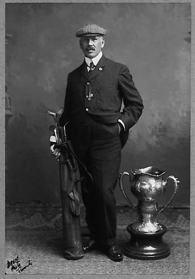 George Lyon and Olympic Cup